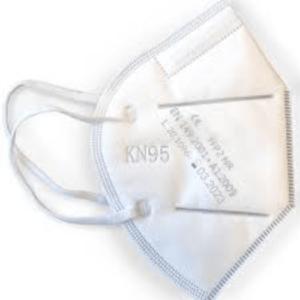 MASCHERINE CERTIFICATE N95/FFP2 SCATOLA DA 20PZZ / CONFEZIONATE 5 PZ X 4 – GB2606-2006
