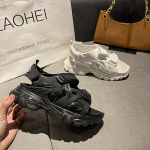 2020 sandali da pista donna escursionismo scarpe estive donna Hook Loop Zapatos De Mujer Platform Flats Sneakers da spiaggia Cool Clunky Sneakers
