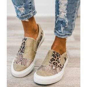 2021 scarpe basse da donna autunno scarpe da gladiatore in tela PU scarpe da donna di lusso designer zeppa da donna Casual Beach Office Party Sneakers