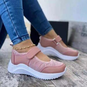 Scarpe Casual da donna estive Sneakers scarpe da donna 2021 Mesh piattaforma traspirante Chaussure Femme Non SlipWomen Vulcanize Shoes
