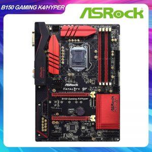 "B150 GAMING K4/HYPER per gioco ""lga 1151 Intel B150 B150M scheda madre Mining DDR4 2133MHz 64GB SATA3 ATX PCI-E x16 3.0 Slot"
