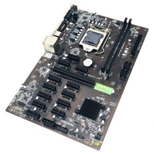 Per Asus B250 MINING EXPERT 12 PCIE mining rig BTC ETH scheda madre di Mining LGA1151 USB3.0 SATA3 Intel B250 B250M DDR4