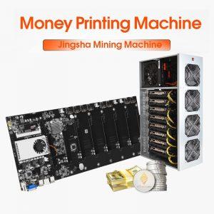 mining motherboard scheda video 8gb scheda madre mining 8 GPU Mainboard con CPU crittografia Ethereum Bitcoin Riserless BTC 37 Mining Expert Board Miner Gigabit Network