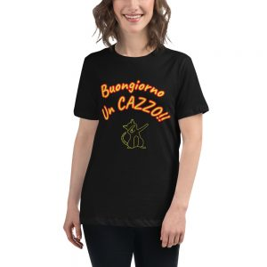 T-shirt relaxed fit donna