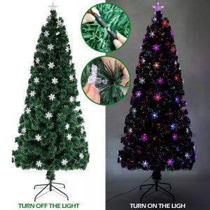 180/210 Cm fai da te albero di natale artificiale natale pino decorazione natalizia per capodanno Indoor Outdoor Festival Home Decor