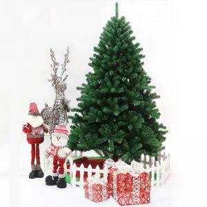 45 60 90 120 150 180 cm albero di natale verde Mini albero di natale artificiale decorazione albero di babbo natale decorazione per feste regalo Figurine
