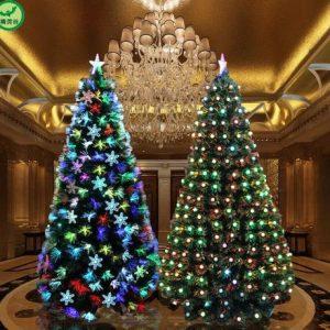 Alberi di natale Rifornimenti Del Partito di Festa 150/180 centimetri led di natale albero di natale illuminato decorazioni per la casa navidad arbol vendita